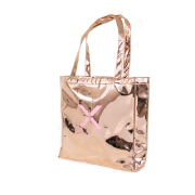 Metallic Tote - Rose Gold